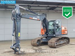 crawler excavator Atlas 225LC GERMAN DEALER MACHINE - ALL FUNCTIONS 2011