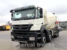 camion à bétonnière Mercedes-Benz 2012 AXOR 4140 8X4 CONCRETE MIXER 9 UNITS 2012