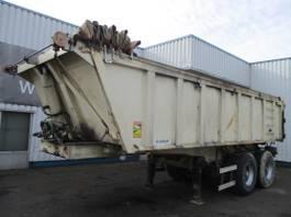 tipper semi trailer Kaiser S3302B, 4 Tyres , Steel tipper trailer , Drum Brakes , Spring Suspension 2004