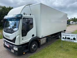 box truck Iveco Euro Cargo 120E25 2017