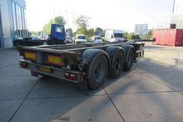 container chassis semi trailer Renders EURO 800 / 2X Extendable / BPW + Drum / 1x Lift 2004