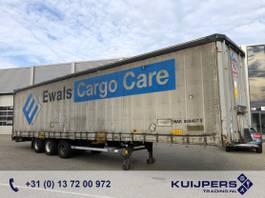 sliding curtain semi trailer LAG O-3 GT 50 / 3 axle BPW Drum / Mega / APK TUV 05-22 2010
