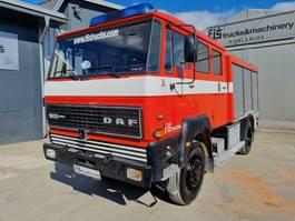 fire truck DAF 4x4 firefighter  original 30.000km 1983