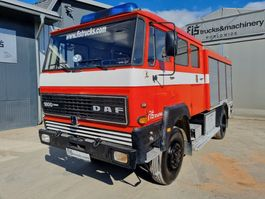 fire truck DAF 4X4 firefigther - original 30.000km 1983