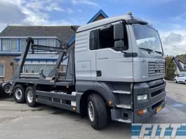 container truck MAN TGA 26 .400 6X2-2 BL 18 Tons portaalarm systeem 2007