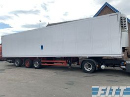 refrigerated semi trailer Schmitz Cargobull SKO 24 3ass  ThermoKing SL400e - ov klep - OH89JL 2004