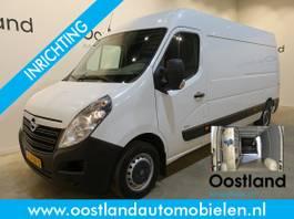 closed lcv Opel 2.3 CDTI L3H2 130 PK Servicebus / Sortimo Inrichting / Airco / Navigatie... 2017