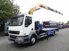 crane truck DAF LF 55 EFFER 110 4S bis 16 Meter 2003