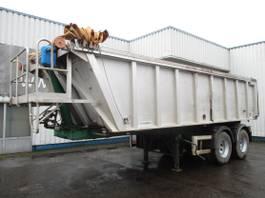 tipper semi trailer Kaiser S3302B , 8 tyres , tipper trailer , Drum Brakes , Spring suspension 2001
