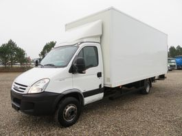 box truck Iveco Daily 65C18 Manuel 2009
