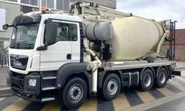 concrete pump truck MAN TGS 41 8x4 pomp mixer 26 mtr PUMI  EURO6 2021
