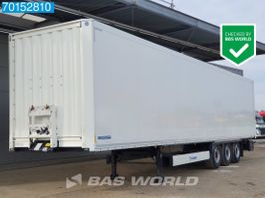 closed box semi trailer Krone SD Doppelstock SAF IntraDisc Koffer Box-Auflieger 2018