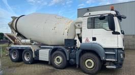 concrete mixer truck MAN TGS 37.360 8x4 BB 10m3 mixer EURO6 2014