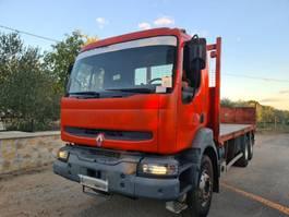 platform truck Renault Kerax 370 stake body - complete spring 2004