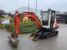 mini digger crawler Kubota Kx61-3 2012