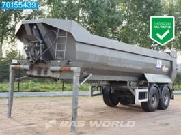 tipper semi trailer Kaiser S3302G37 2 axles 26m3 Stahl-Kipper 2-achse 1997