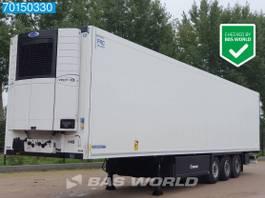 refrigerated semi trailer Krone Carrier Vector 1550 3 axles Doppelstock Palettenkasten Liftachse 2017