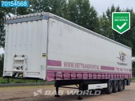sliding curtain semi trailer Krone SD 3 axles APK until 02-2022 Edscha 2015
