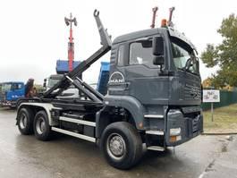 heavy duty tractorhead MAN TGA 33 6x6 - WISSELSYSTEEM TREKKER + CONTAINERSYSTEEM AJK 20T / DOUBLE PVA TRACTEUR + PORTE CONTAINER AJK 20T - CAMION BELGE 2003