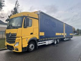 sliding curtain truck Mercedes-Benz Actros 2545 2545 LL schuifzeilcomby 8-2016 !!! 2016