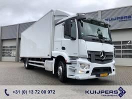 box truck Mercedes-Benz 1924 / Box 7.5 mtr / Laadklep 2000 kg / APK TUV 02-22 2016