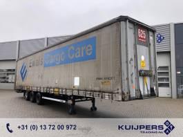 sliding curtain semi trailer LAG O-3 GT 50 / 3 axle BPW Drum / Mega / APK TUV 01-22 2010