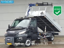 tipper lcv <3.5 t Iveco 50C18 3.0 Kipper 2.5T/M Kraan Kraanwagen Tipper Benne A/C Towbar Cruise ... 2018