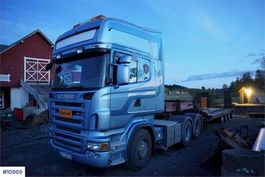 cab over engine Scania R500 6x2 truck 2006