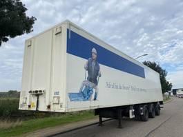 closed box semi trailer DRACO Closed Box / 2x Steering / Liftaxle / Loading Lift 2008