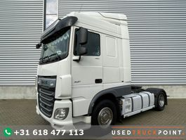 cab over engine DAF XF 480 SC / 2 TANKS / Frigo / 2018 / 422 DKM / TUV: 9-2022 / Belgium Truck 2018