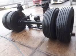 axle equipment part BPW zware  bladgeveerde as