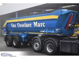 tipper semi trailer Kaiser S3302G37, SAF assen 1996