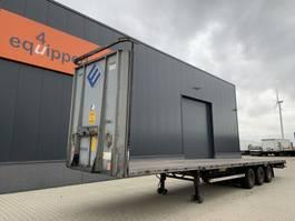 mega-volume semi trailer LAG Flatbed, BPW+drum, NL-Auflieger 2012