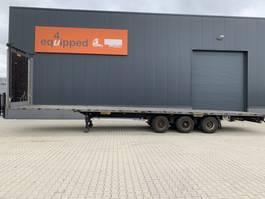 flatbed semi trailer LAG Mega-Flatbed, BPW+drum, NL-Auflieger 2012