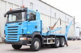container truck Scania R380 6x4 Welaki E4 Retarder Fernbedienung 2006