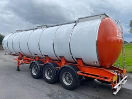 tank semi trailer semi trailer Van Hool T300/27 - INOX CITERNE - 1991 - 29.000L - 3 AXLES ROR 1991