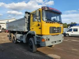 tipper truck MAN 33.414 6x6 tipper (LHD)