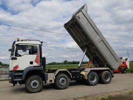 tipper truck MAN TGA 35 8X4 Tipper (LHD)