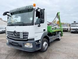container truck Mercedes-Benz 1227 L 4x2 Atego 1227 L 4x2, Funk Klima 2014