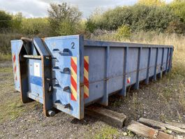 Open Top Versandcontainer 15 m3 hejselads container 2021