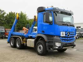 container truck Mercedes-Benz 3348 6x4 Absetzkipper Funkfernbedienung 2017