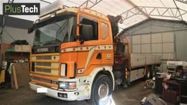 crane truck Scania R420 R124C 2000