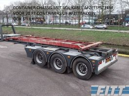 other semi trailers DRACO 3ass oplegger VDL 30tons Kabel afzet systeem 2011