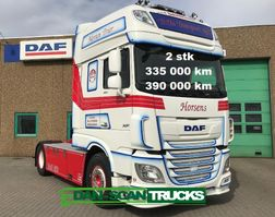 cab over engine DAF XF 450 2 stk same trucks inkl. Retarder and special interior 2019