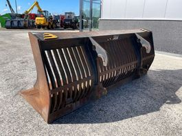 front loader bucket attachment Beco Werklust aansluiting Puinbak Werklust WG18 290cm 1800 liter 2009