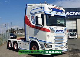 cab over engine Scania S650 V8 NGS Air / Air suspension Special interior 2020