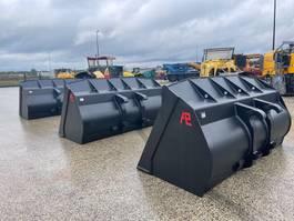 front loader bucket attachment Pladdet Verachtert aansluiting Dichte bak 290cm 3612 liter 2021