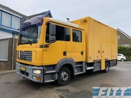 box truck MAN TGL 12.240 4x2 BL , dubbele cabine, gesloten laadbak, zijdeuren, laadklep, airco kachel 2008