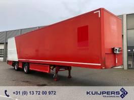 closed box semi trailer Renders 2 as Gestuurd X-steering / Box / Laadklep 2012