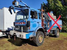 chassis cab truck Renault S170 ***4X4*** 1988